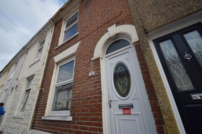Thumbnail Terraced house to rent in Jersey Road, Portsmouth