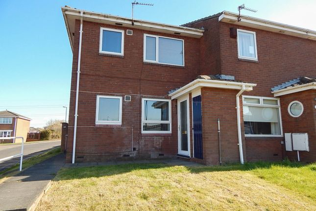Thumbnail Flat to rent in Crudwell Close, Boldon Colliery