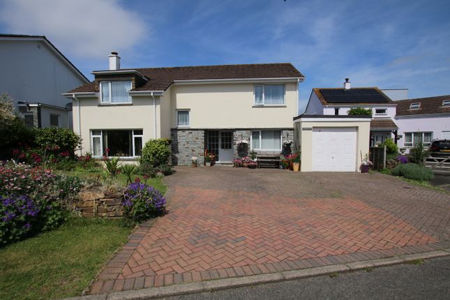 Thumbnail Detached house for sale in St. Giles Drive, Gonvena, Wadebridge