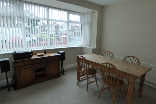 Dining Room of St Georges Avenue, St Helens WA10