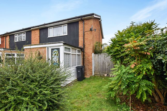 Thumbnail End terrace house for sale in Rushes Mead, Harlow