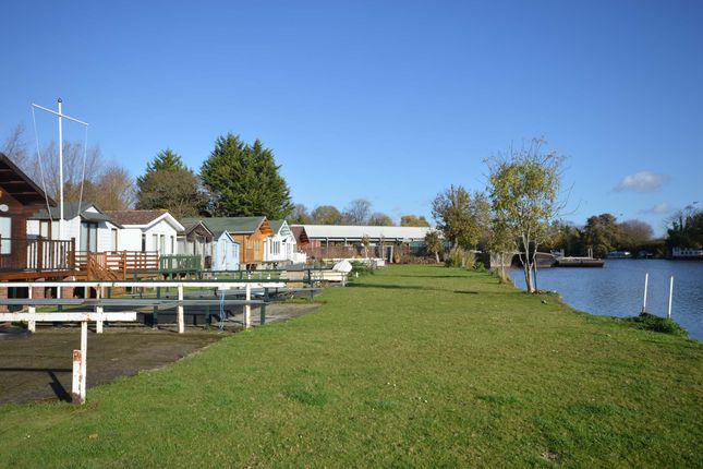 Thumbnail Land for sale in Wheatleys Eyot, Sunbury-On-Thames