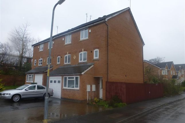 Thumbnail Town house to rent in Honeychurch Close, Redditch