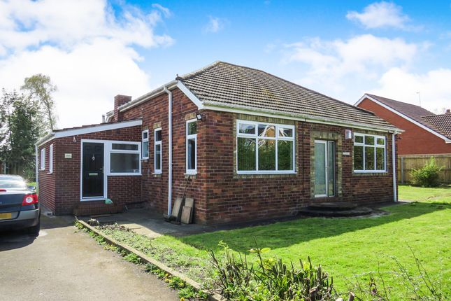 Thumbnail Detached bungalow for sale in Castle Hill Lane, Sutton-On-Hull, Hull