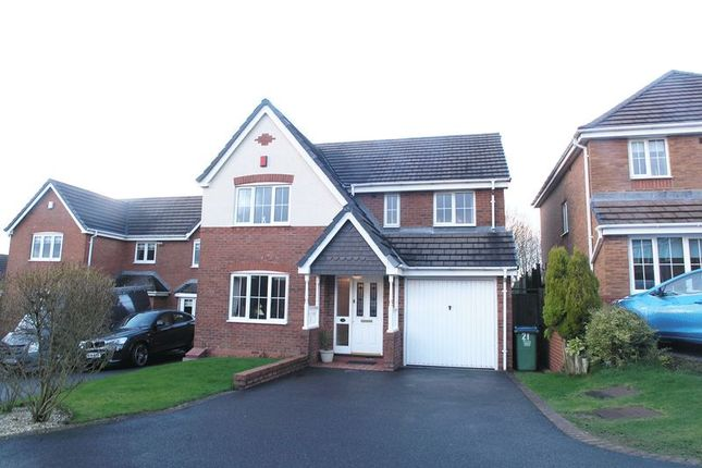Thumbnail Detached house for sale in Oldbury, Tividale, Speakers Close