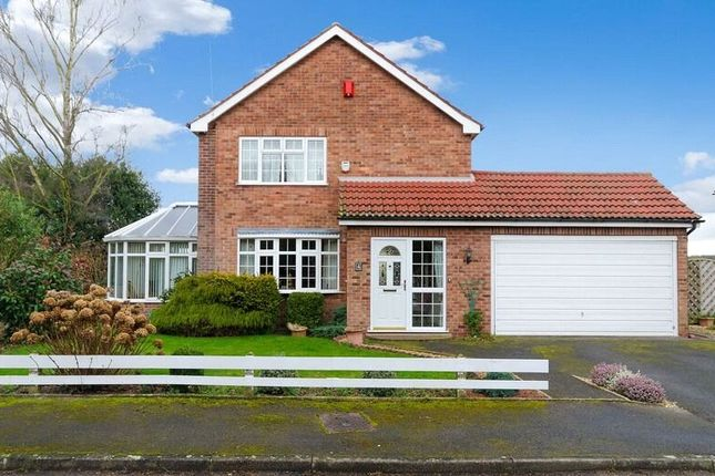 Thumbnail Detached house for sale in Brooklands Close, Collingham, Newark, Nottinghamshire