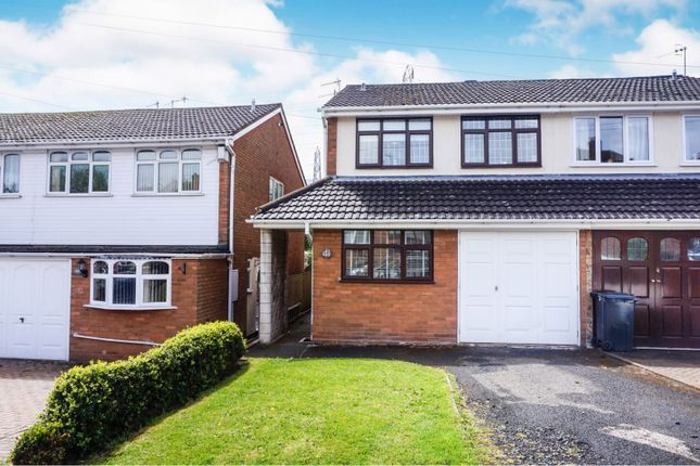 Thumbnail Semi-detached house for sale in Wallows Wood, Dudley