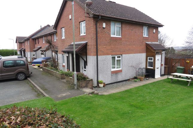 Thumbnail Terraced house for sale in Trevose Way, Manor Fields, Plymouth
