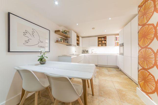 Thumbnail 2 bed flat to rent in Bridge House, St George Wharf, Nine Elms, London