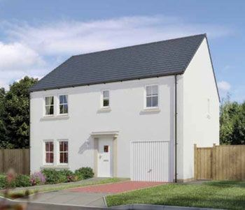 "5 bedroom detached house for sale in ""The Waterside"" at Stable Gardens, Galashiels"