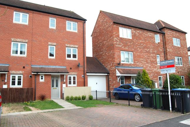 Thumbnail Terraced house to rent in Congreve Way, Stratford-Upon-Avon