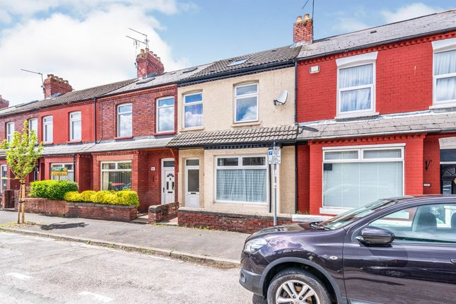 Thumbnail Terraced house for sale in Surrey Street, Canton, Cardiff