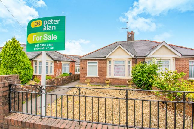 Thumbnail Semi-detached bungalow for sale in Durlston Close, Llandaff North, Cardiff