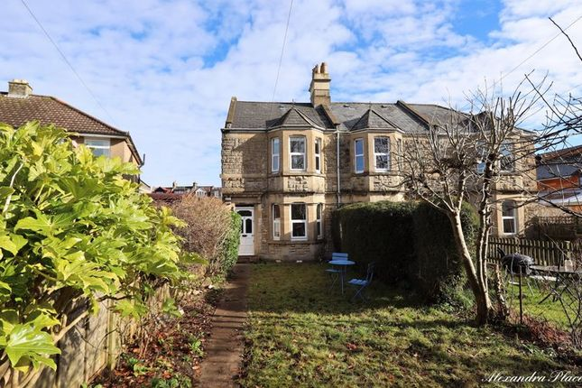 3 bed terraced house to rent in Alexandra Place, Combe Down, Bath BA2