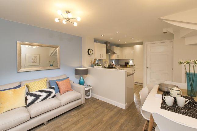 "Thumbnail Terraced house for sale in ""Haversham"" at Ffordd Y Mileniwm, Barry"