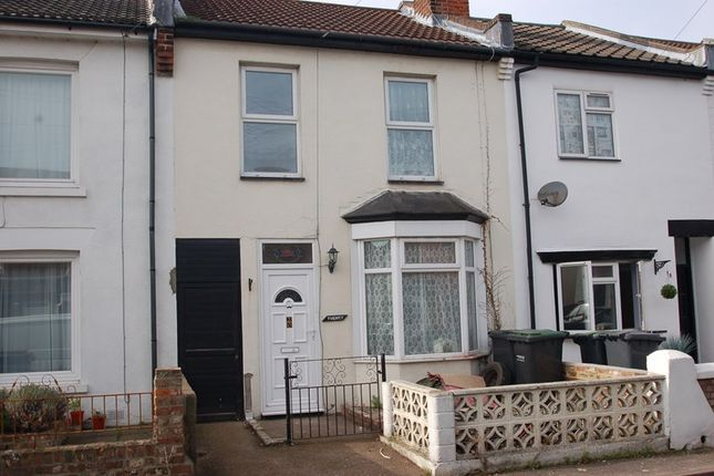 Thumbnail Terraced house to rent in Alver Road, Gosport