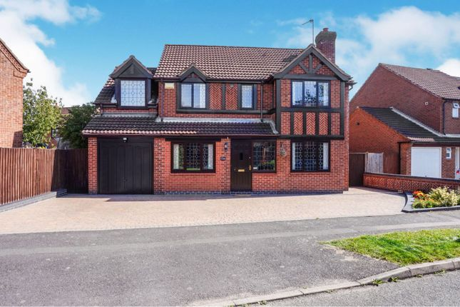 Thumbnail Detached house for sale in Somerfield Way, Leicester Forest East