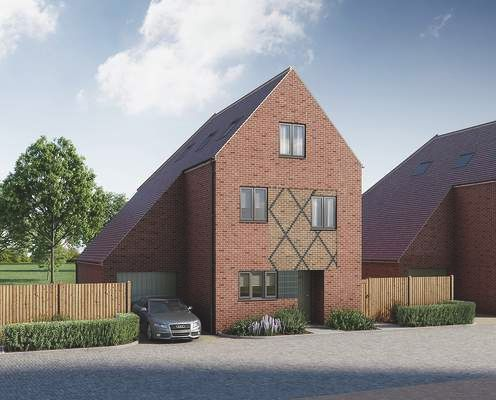 Thumbnail Detached house for sale in Pilots View, Chatham, Kent