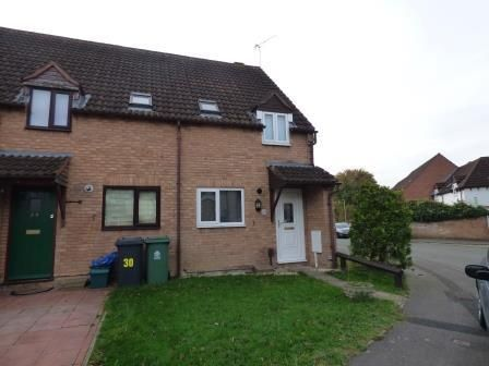 Thumbnail End terrace house to rent in Lanham Gardens, Quedgeley, Gloucester