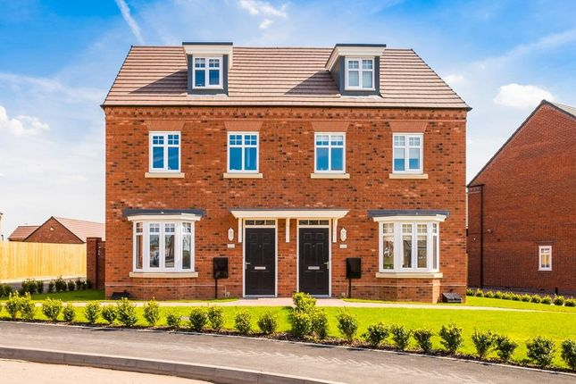 "Thumbnail Terraced house for sale in ""Kennett"" at Waterlode, Nantwich"