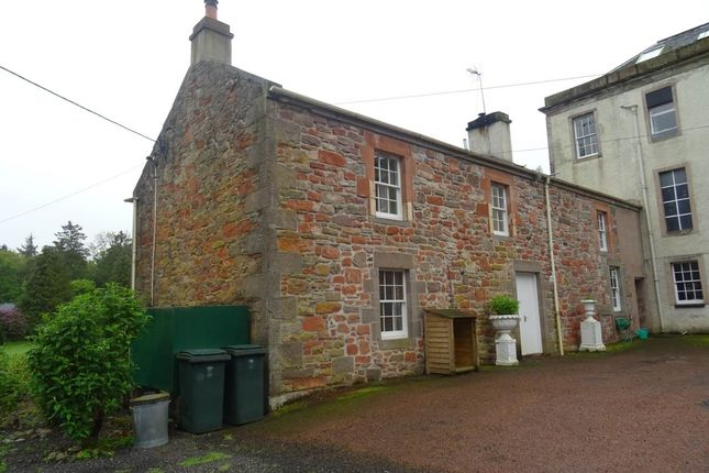 Thumbnail Semi-detached house to rent in South East Flat, Inchmartine House, Inchture