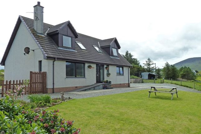 Thumbnail Detached house for sale in Stenscholl, Staffin, Portree