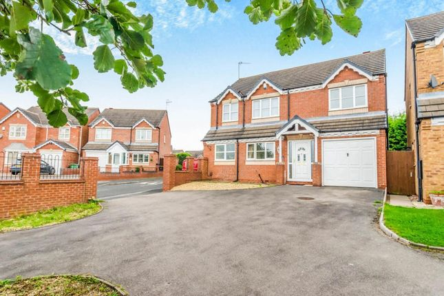 Thumbnail Detached house for sale in Hebden Grove, Willenhall