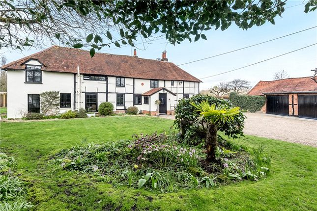 Thumbnail Semi-detached house for sale in Eversley Cross, Hook, Hampshire