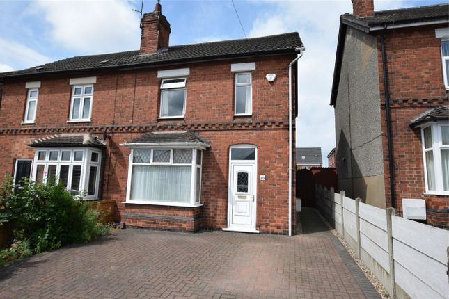 Thumbnail Semi-detached house for sale in Birchwood Lane, South Normanton, Alfreton, Derbyshire