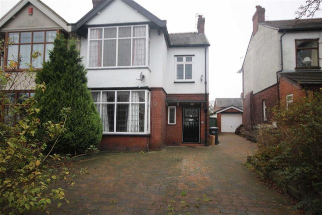 3 bed semi-detached house for sale in New Hall Lane, Bolton