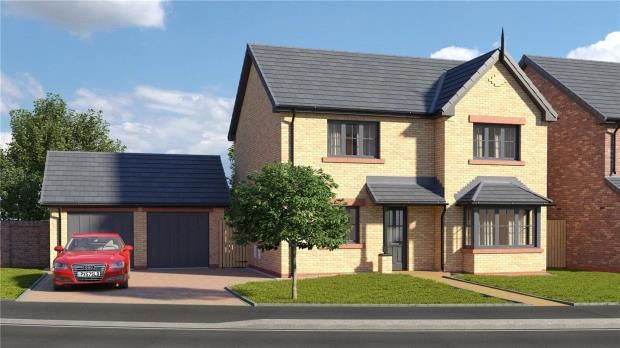 Thumbnail Detached house for sale in Plot 26 The Trent, St. Cuthberts, Off King Street, Wigton