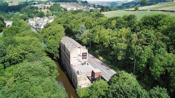Thumbnail Land for sale in Denholme Mills, Burnley Road, Luddendenfoot, Halifax