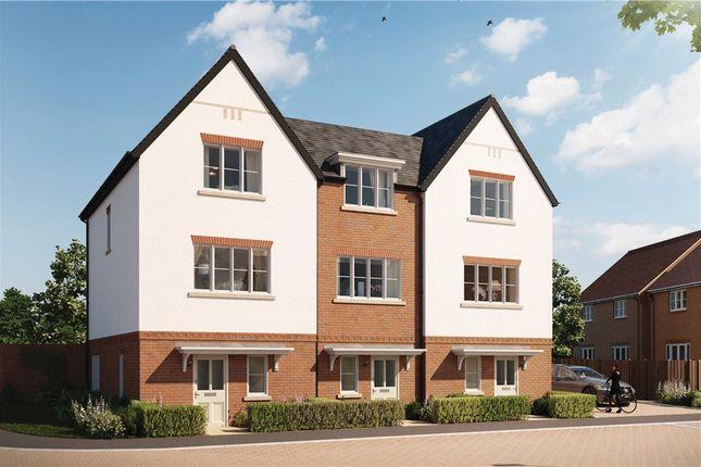 Thumbnail End terrace house for sale in Abbey Barn Lane, High Wycombe, Buckinghamshire