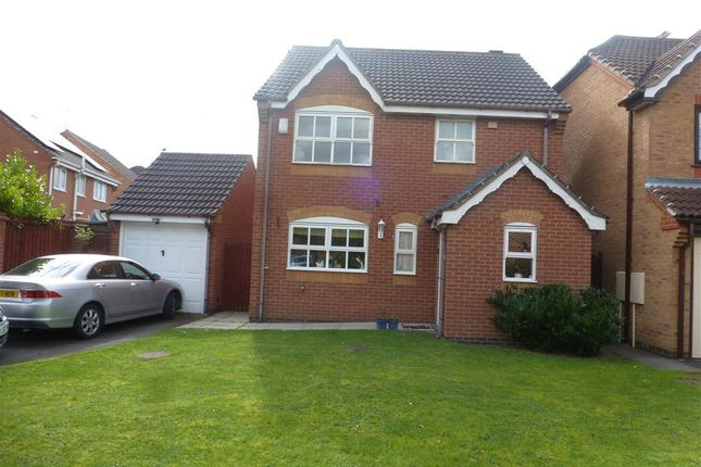 Thumbnail Detached house to rent in Glenmore Drive, Stenson Fields, Derby