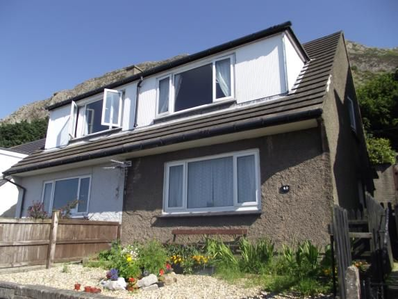 Semi-detached house for sale in Pendalar, Llanfairfechan, Conwy