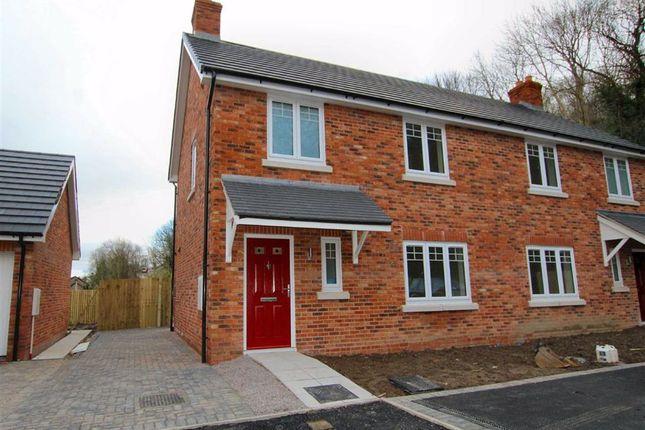 3 bed semi-detached house to rent in Lime Kiln Court, Gwernymynydd, Flintshire CH7