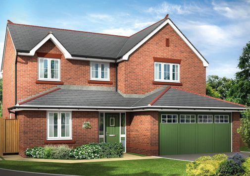 Thumbnail Detached house for sale in The Warminster, Sandy Lane, Chester, Cheshire