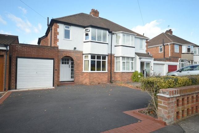 3 bed semi-detached house for sale in Berkeley Road, Shirley, Solihull