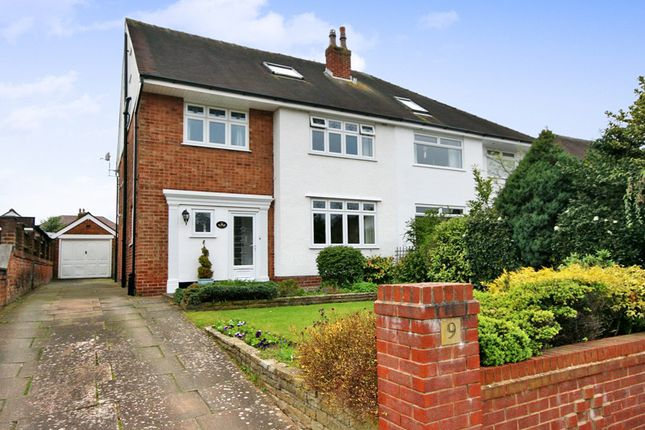 Thumbnail Semi-detached house for sale in Dunster Road, Birkdale, Southport