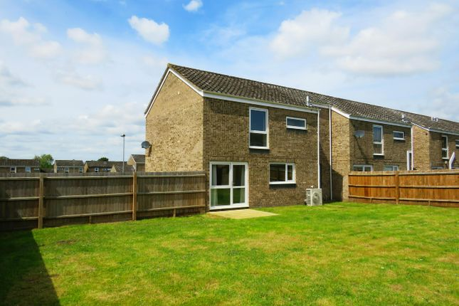 Thumbnail End terrace house to rent in Myrtle Close, RAF Lakenheath, Brandon
