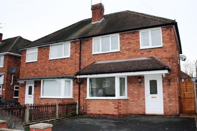 Thumbnail Property to rent in Rosemary Road, Hurcott, Kidderminster