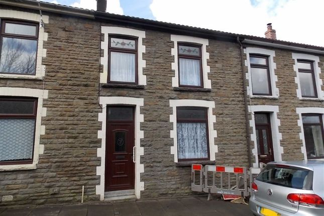 Thumbnail Terraced house to rent in Railway View, Williamstown, Tonypandy