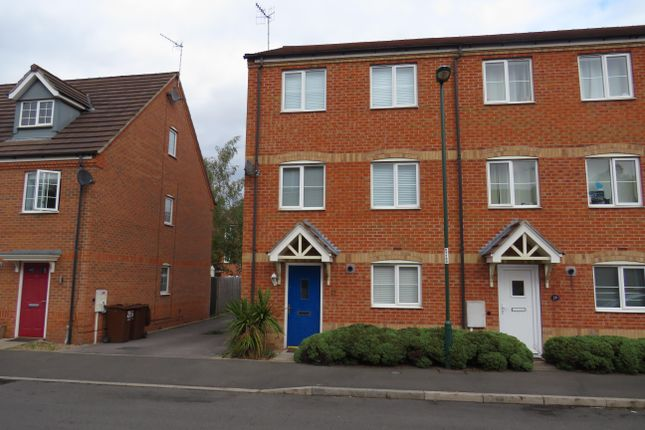 Thumbnail Town house to rent in Tannin Crescent, Bulwell, Nottingham