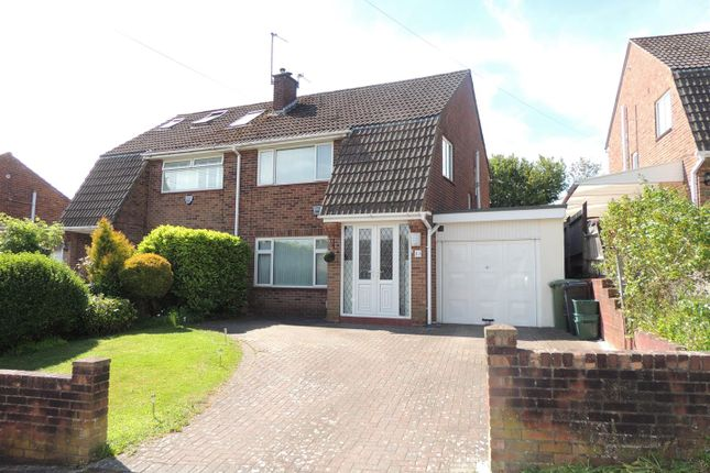 Thumbnail Semi-detached house for sale in Pearsall Road, Longwell Green, Bristol