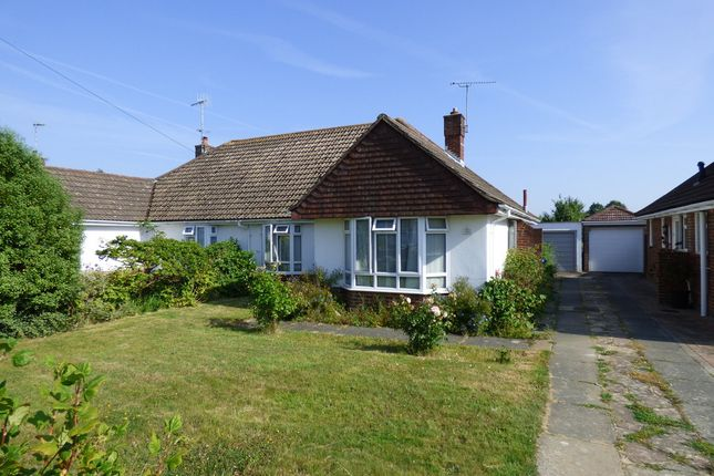 Thumbnail Semi-detached bungalow for sale in Harwood Avenue, Goring-By-Sea, Worthing