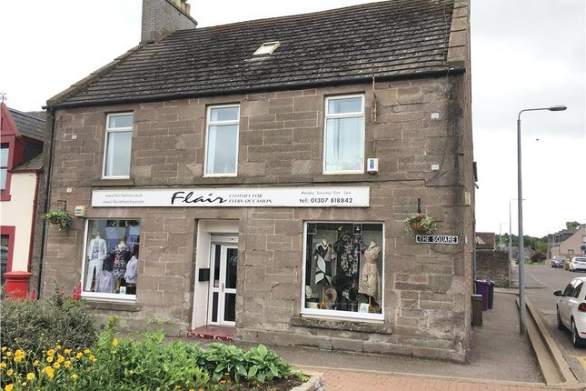 Thumbnail Retail premises for sale in 1 The Square, Letham, Letham, Forfar, UK