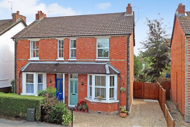 Thumbnail Semi-detached house for sale in Watchetts Road, Camberley
