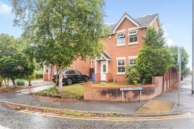 Thumbnail Detached house for sale in Chelsea Gardens, Warrington