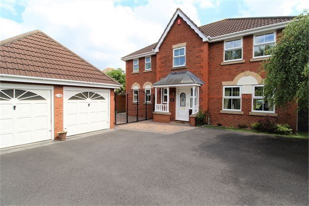 Thumbnail Detached house for sale in The Cornfields, Wick St Lawrence, Weston-Super-Mare, North Somerset.