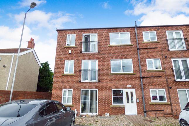 Thumbnail Flat to rent in Half Moon Street, Stakeford, Choppington